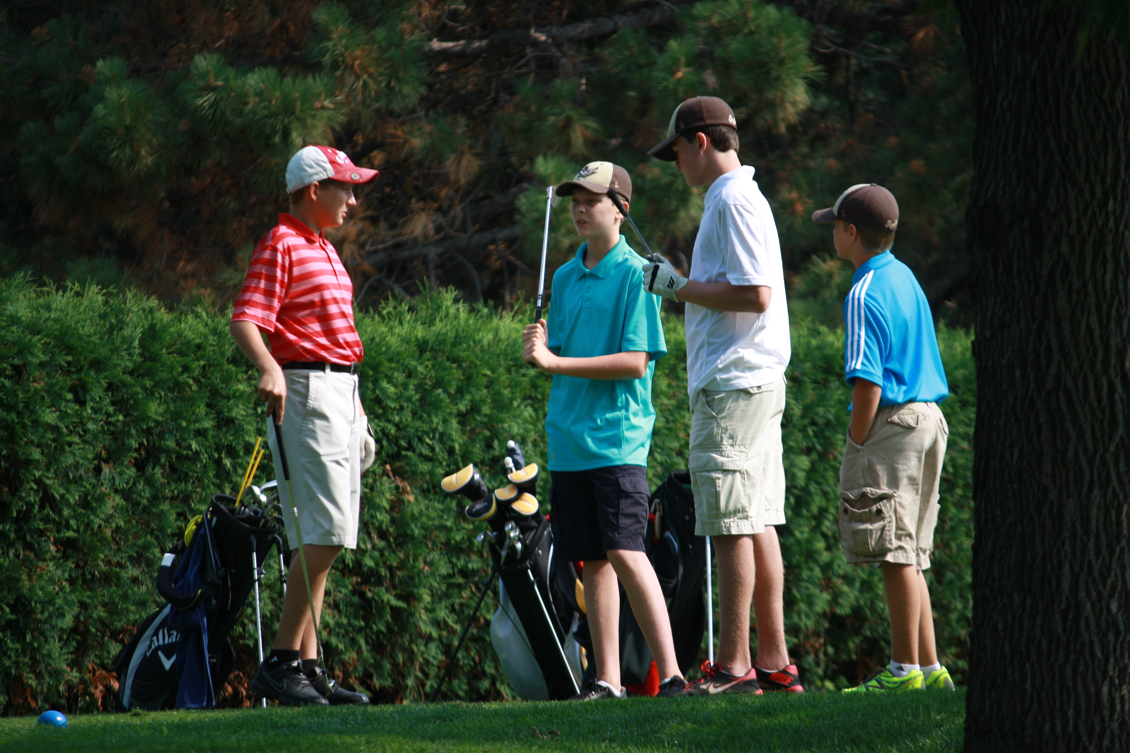 Youth Golfing