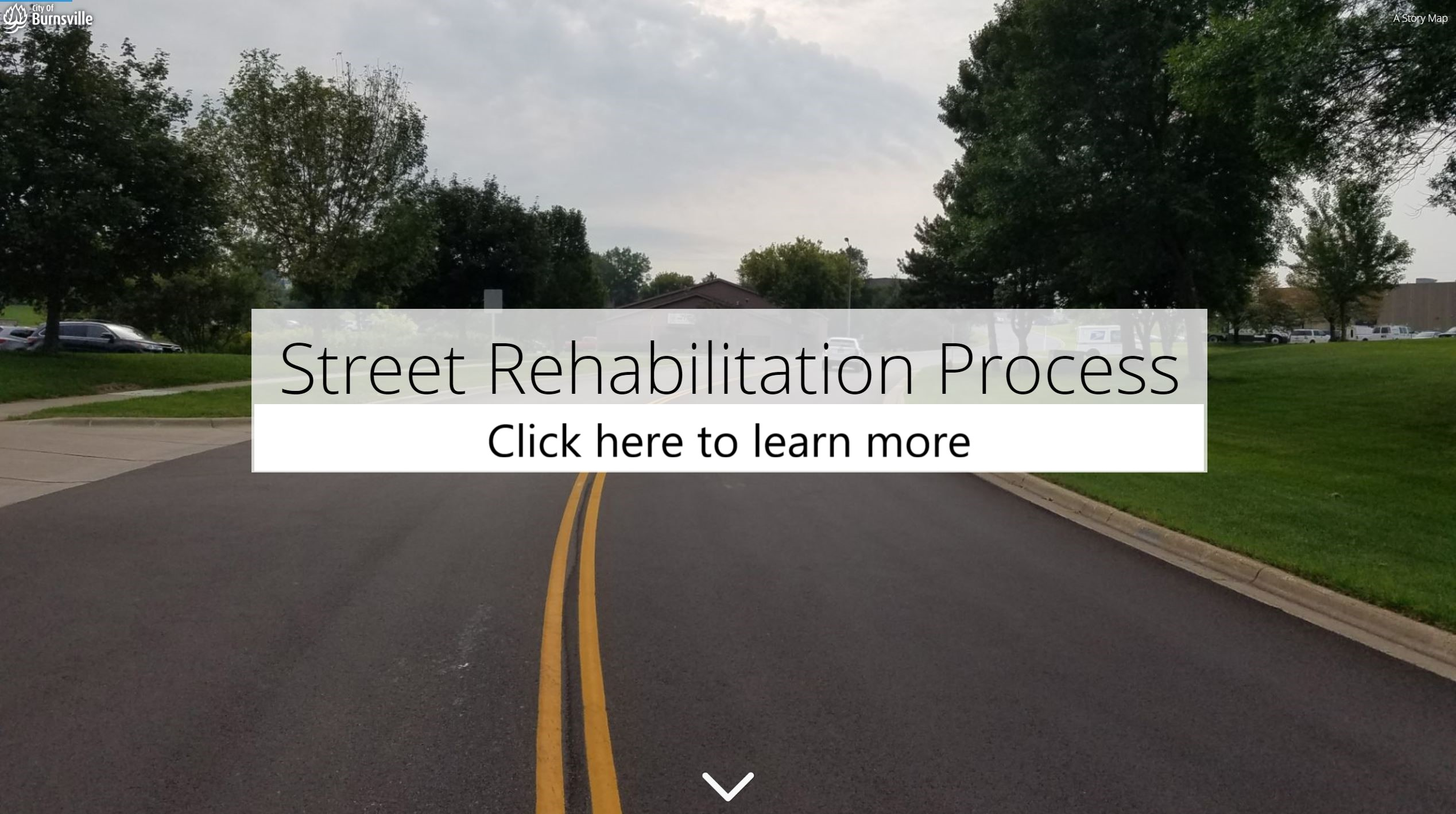 Click here to learn more about the street rehabilitation process Opens in new window